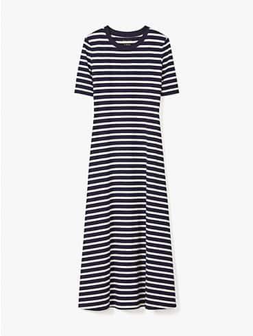 striped midi dress, , rr_productgrid