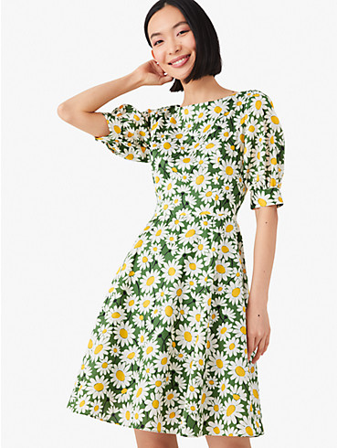 kate daisy puff-sleeve dress, , rr_productgrid
