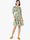 kate daisy puff-sleeve dress, , s7productThumbnail
