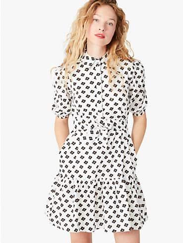 Block Floral Hemdkleid, strukturiert, , rr_productgrid