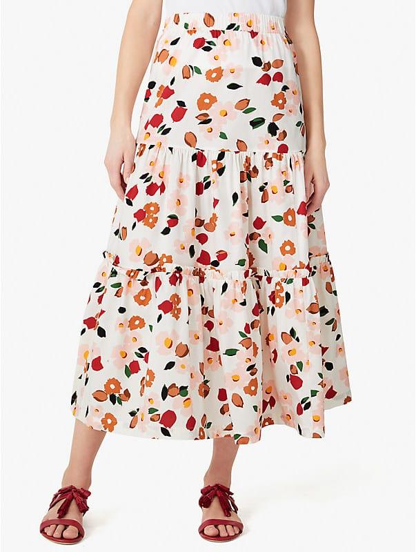 botanical garden ruffle skirt, , rr_large