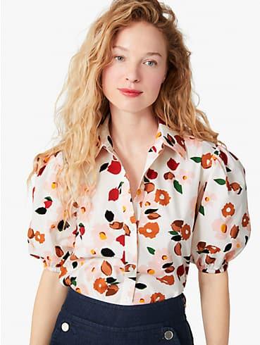 botanical garden button-front shirt, , rr_productgrid