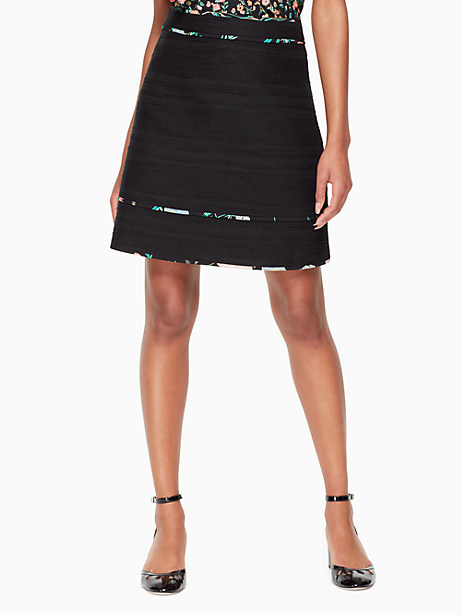blossom trim tweed skirt by kate spade new york