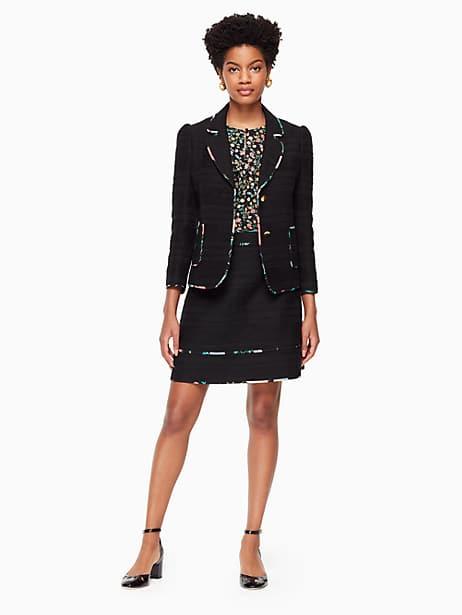 Blossom trim tweed skirt   Kate Spade New York