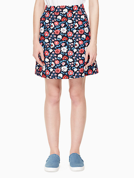 daisy jacquard a-line skirt by kate spade new york