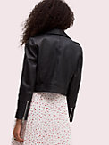 leather moto jacket, , s7productThumbnail