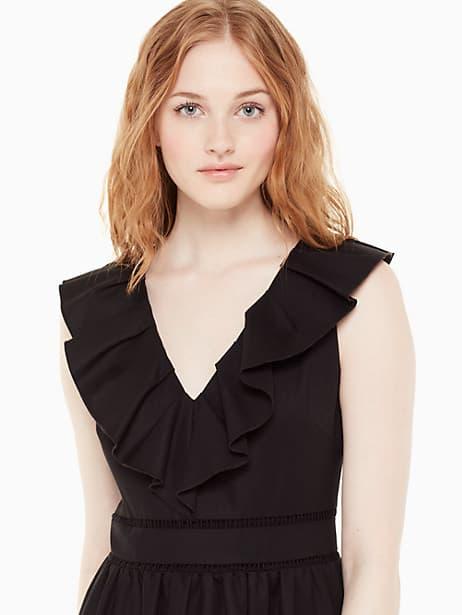 Ruffle neck dress | Kate Spade New York