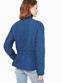 chambray quilted jacket, , s7productThumbnail
