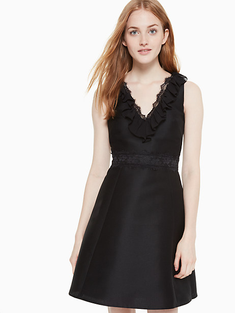 lace mikado dress by kate spade new york