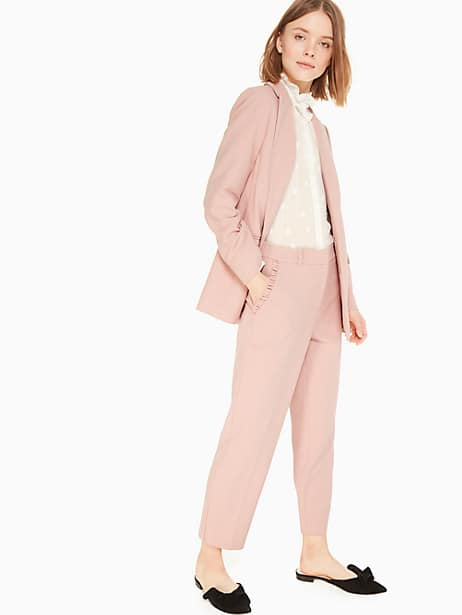 classic blazer, pink opal, large by kate spade new york