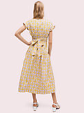 gingham spade tie-back dress, , s7productThumbnail