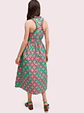 gingham spade belted dress, , s7productThumbnail