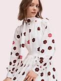 floral kiss tie-neck dress, , s7productThumbnail