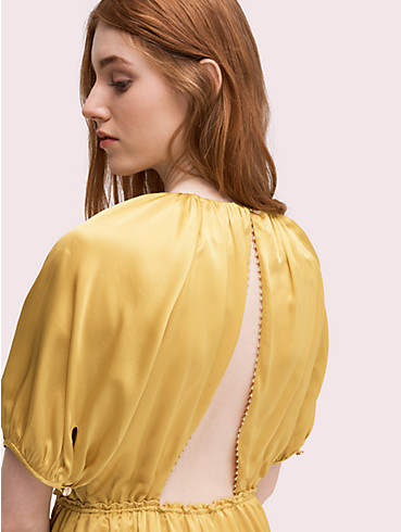 silk open-back midi dress, , rr_productgrid