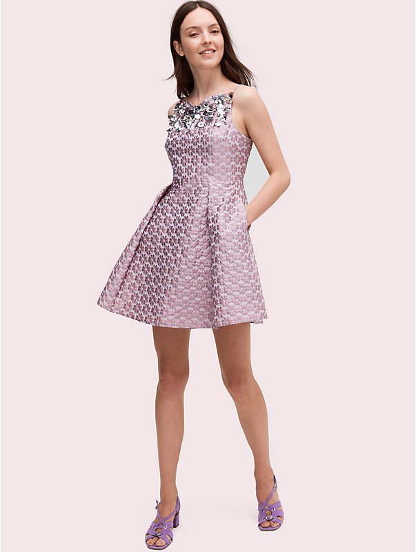 flora embellished dress, , rr_large