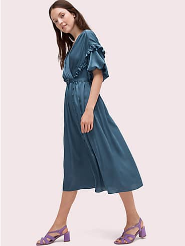 satin midi dress, , rr_productgrid