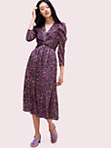 marker floral devore dress, , s7productThumbnail