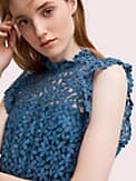 flora lace ruffle dress, , s7productThumbnail