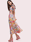 floral dots ruffle midi dress, , s7productThumbnail