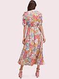 floral dots ruffle midi dress, , s7productThumbnail