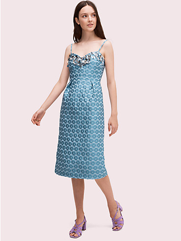 flora embellished midi dress, , rr_productgrid