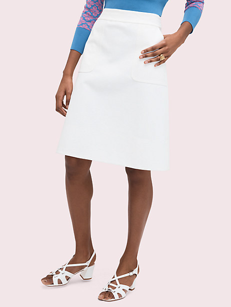 twill pocket skirt by kate spade new york