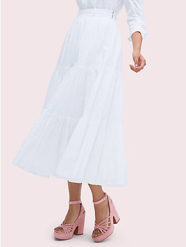 poplin tiered midi skirt, , rr_productgrid