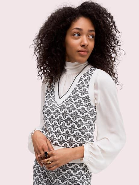 spade flower sweater vest by kate spade new york