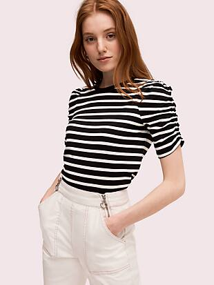 sailing stripe tee by kate spade new york non-hover view