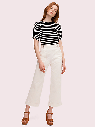 sailing stripe tee by kate spade new york hover view