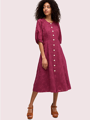 floral jacquard midi dress, , rr_productgrid