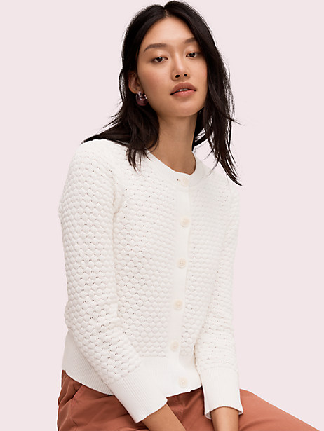 textured cardigan by kate spade new york