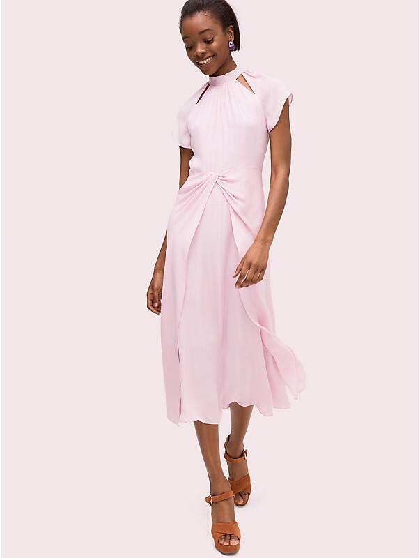 silk fluid midi dress, , rr_large