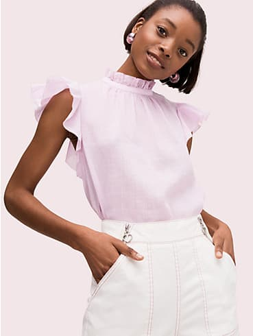solid high neck top, , rr_productgrid