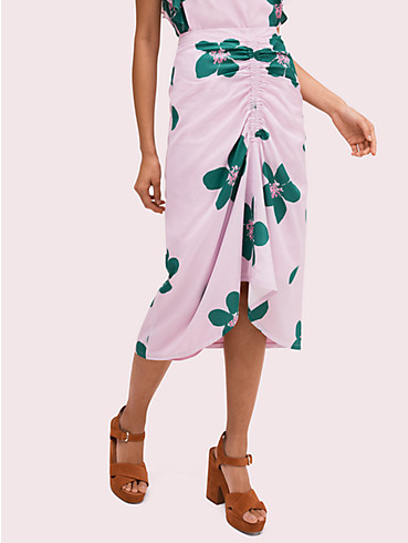 grand flora ruched skirt , , rr_productgrid