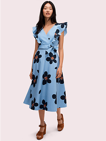 grand flora poplin midi dress , , rr_productgrid