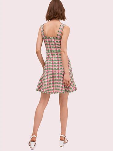 Ärmelloses Kleid aus kariertem Tweed, , rr_productgrid