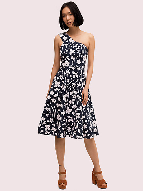 splash one-shoulder dress by kate spade new york