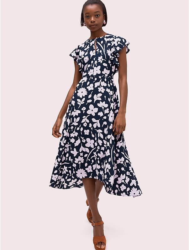 splash flutter sleeve dress, , rr_large
