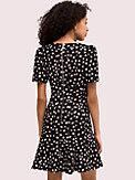 mallow dot crepe dress, , s7productThumbnail