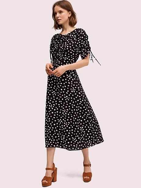 mallow dot midi dress by kate spade new york