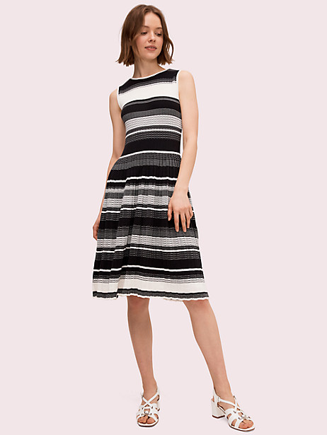 striped sweater dress by kate spade new york