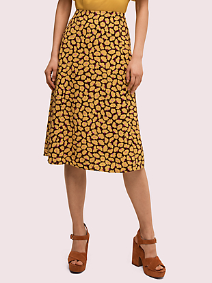 sunny bloom midi skirt by kate spade new york non-hover view