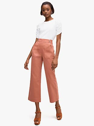 ruched sleeve tee by kate spade new york non-hover view