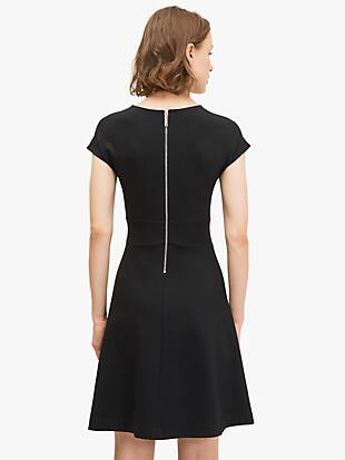 ponte v-neck dress by kate spade new york hover view