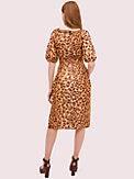 panthera puff sleeve dress, , s7productThumbnail