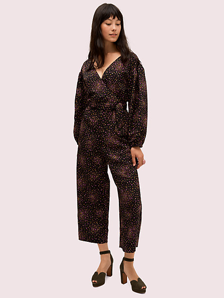 disco dots jumpsuit by kate spade new york