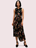rare roses pleated dress, , s7productThumbnail