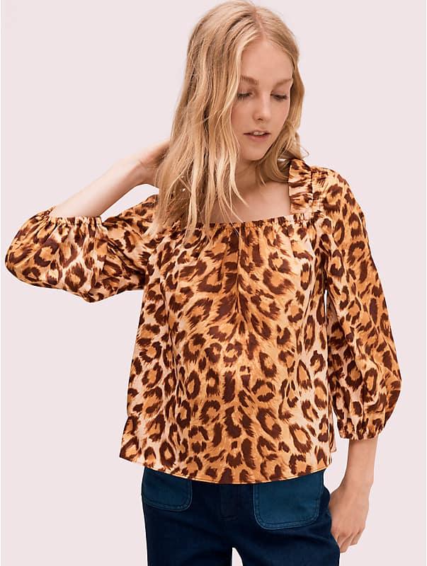 panthera square neck top, , rr_large