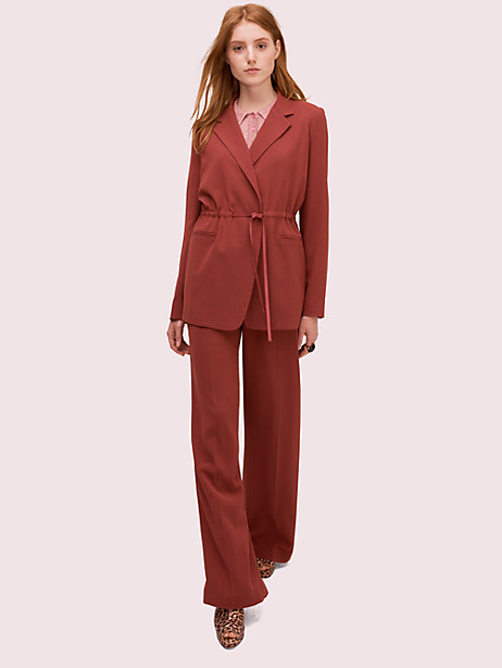 draped suiting blazer by kate spade new york
